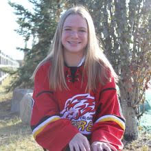 8 AYLA KIRSTINE | Players | Alberta Female Hockey League